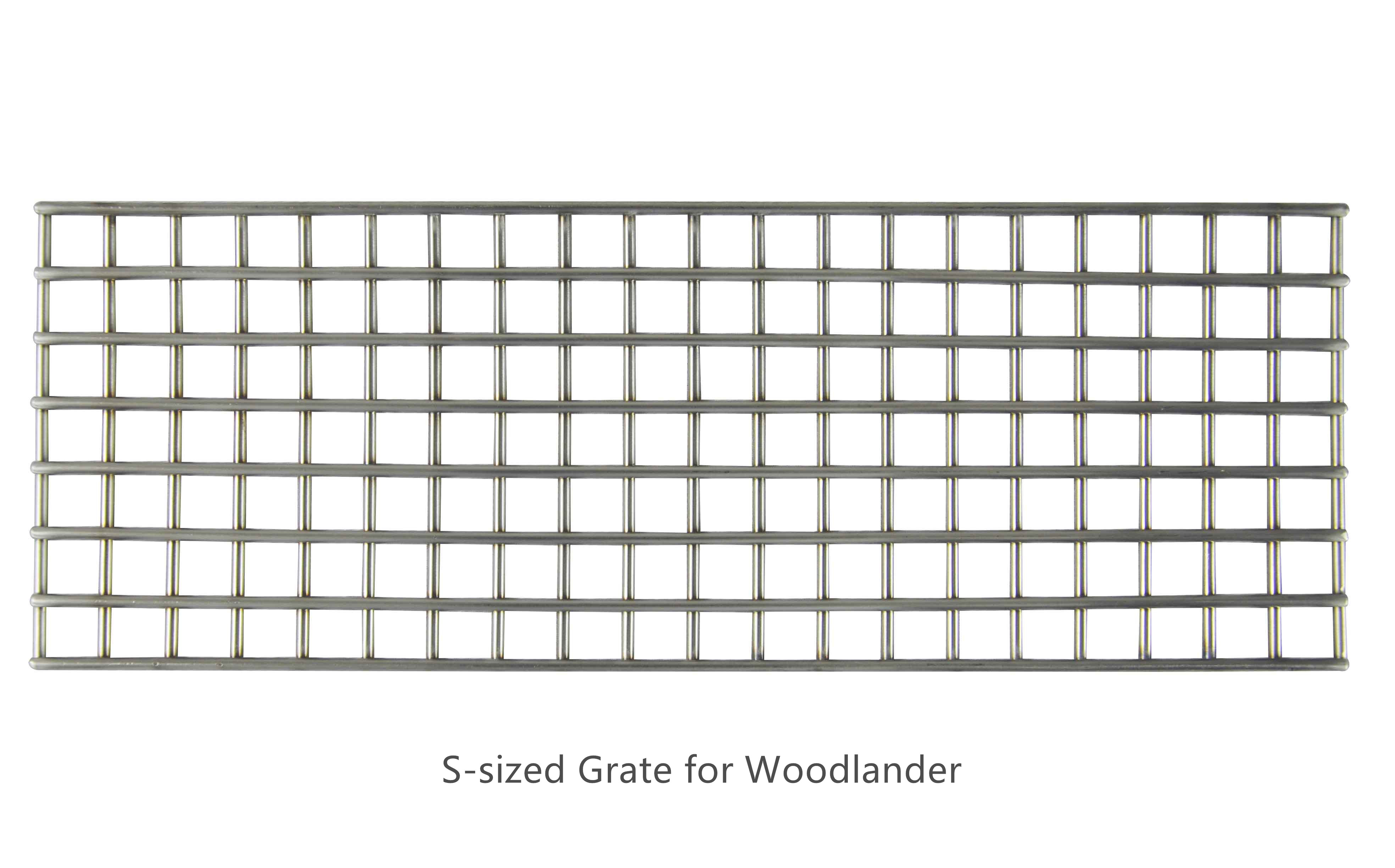 Grate for Woodlander Series S, M and L